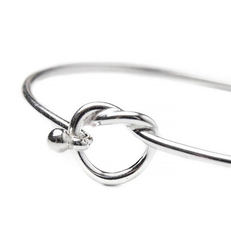 Bratara Infinity Knot din Argint