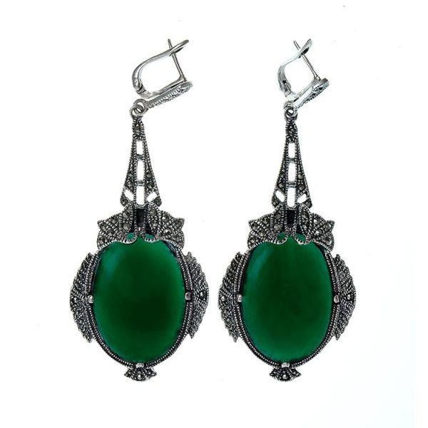 cercei-green-ivy-din-argint-2