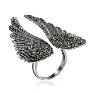 Inel Azael din Argint Antichizat