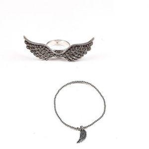 Bratara Angel-Wing din Argint