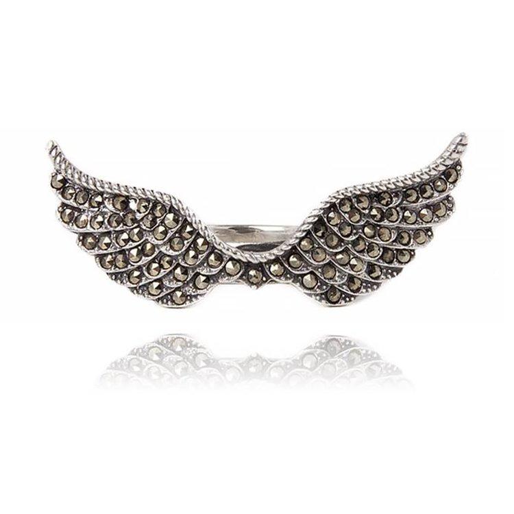 Inel Dark Wings din Argint