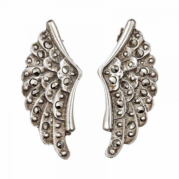 Cercei Pegas Wings din Argint