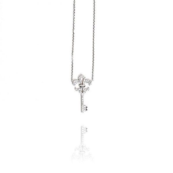 Colier Fleur de Lis din Argint