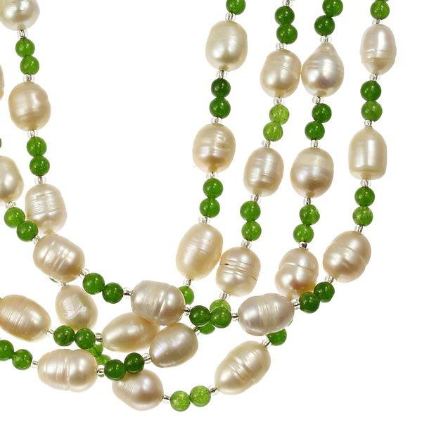 Colier din Perle si Aventurin