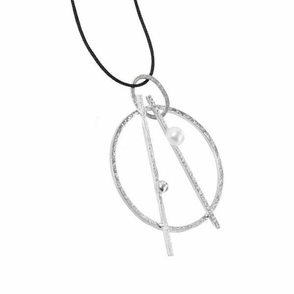 Colier-Pearl-Anarchy-din-Argint-Snur-1