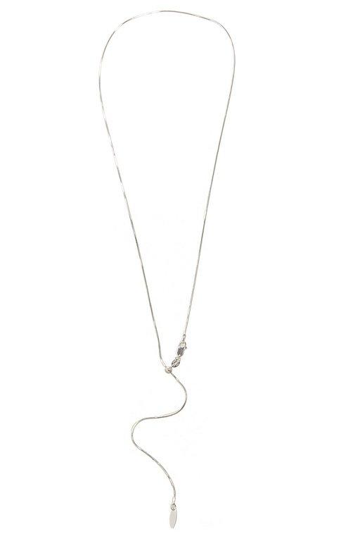 Colier Elipse Sliding Chain din Argint