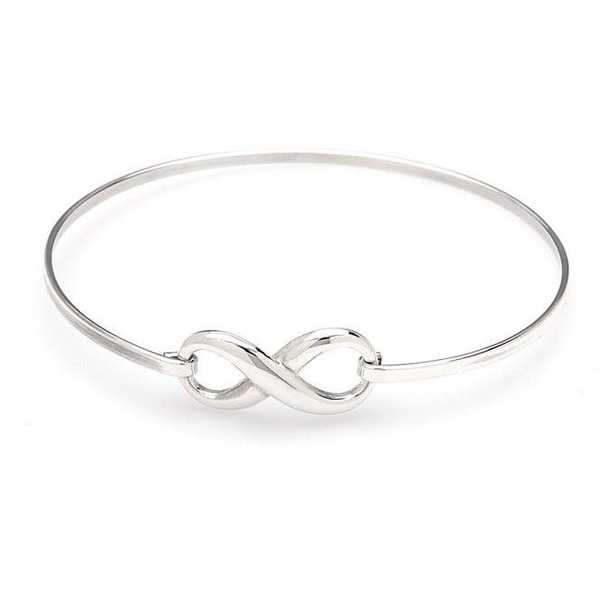 Bratara Fixa Infinity din Argint