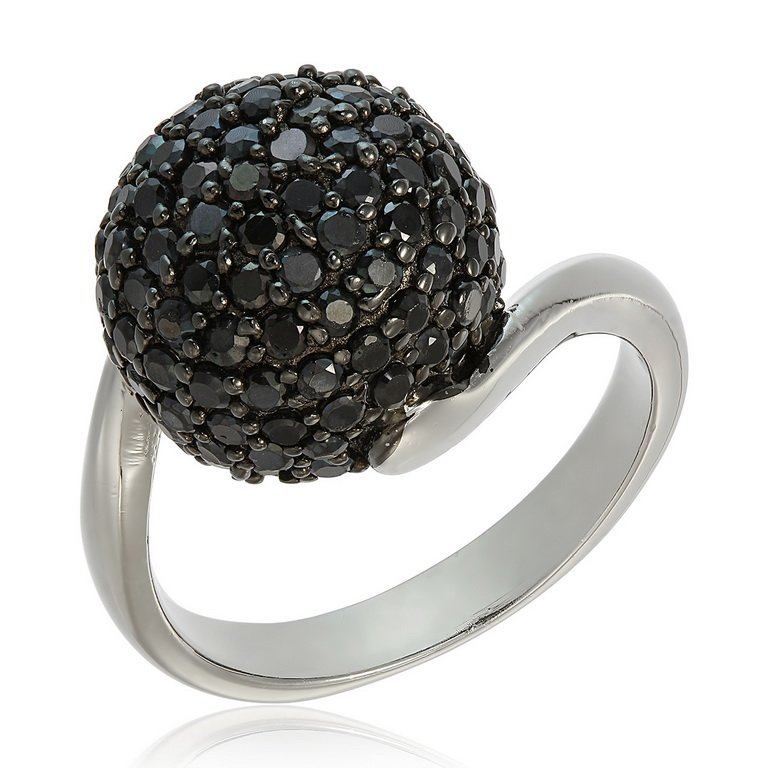 Inel Black Star din Argint