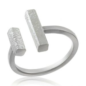 Inel Bi-Bar din Argint