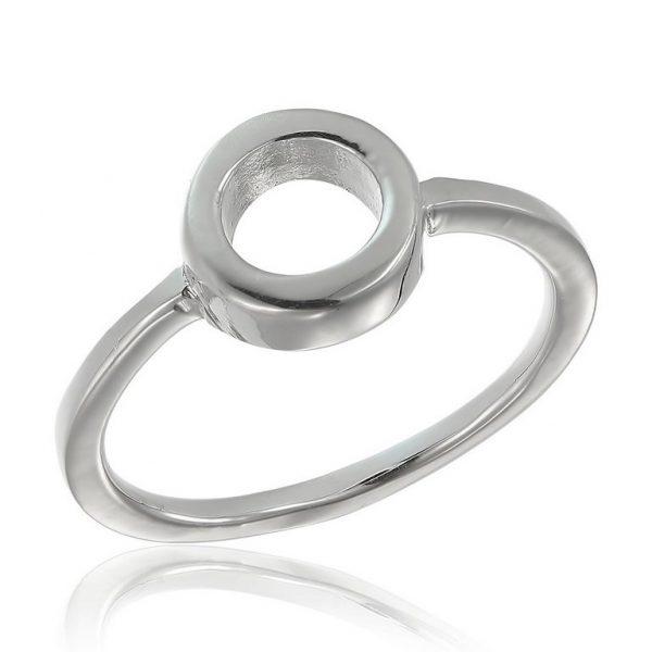 Inel Slim Circle din Argint