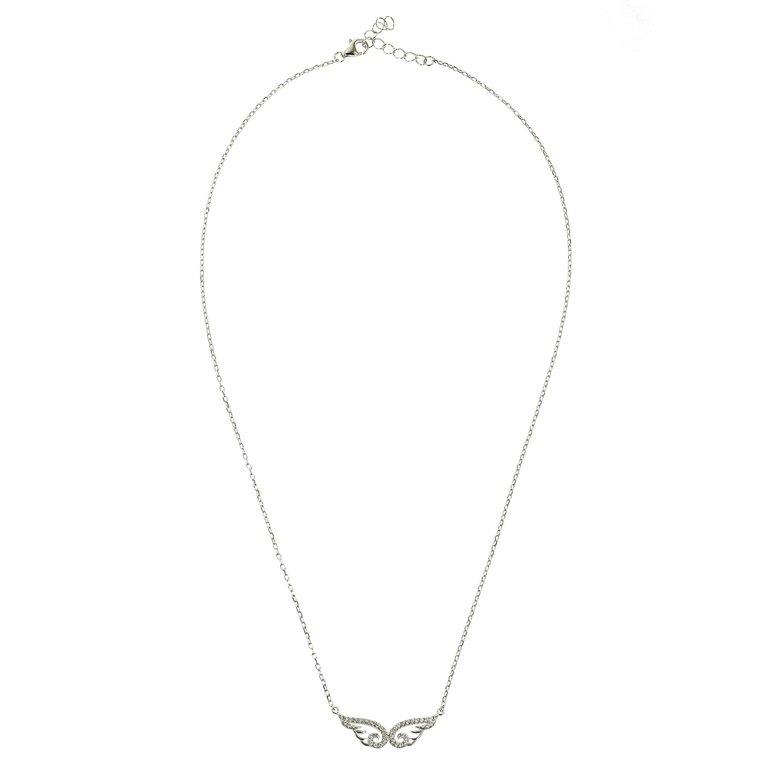 Colier Infinity Wings din Argint