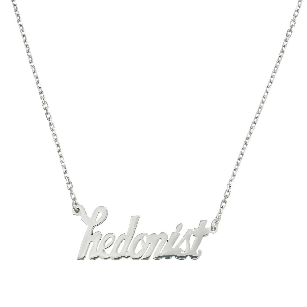 Name Necklace din Argint