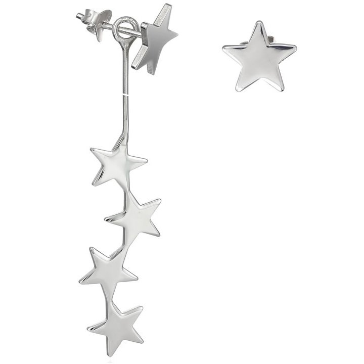 Cercei Lost Stars din Argint
