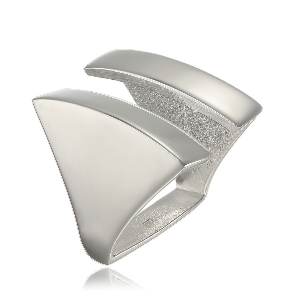 Inel Side by Side din Argint