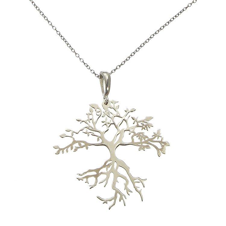 Colier Maitreyi Deep Roots din Argint