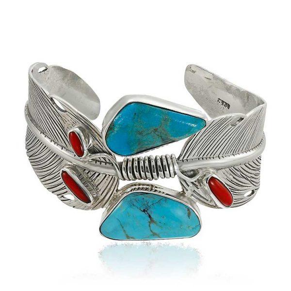 bratara-paradise-feathers-din-argint-1