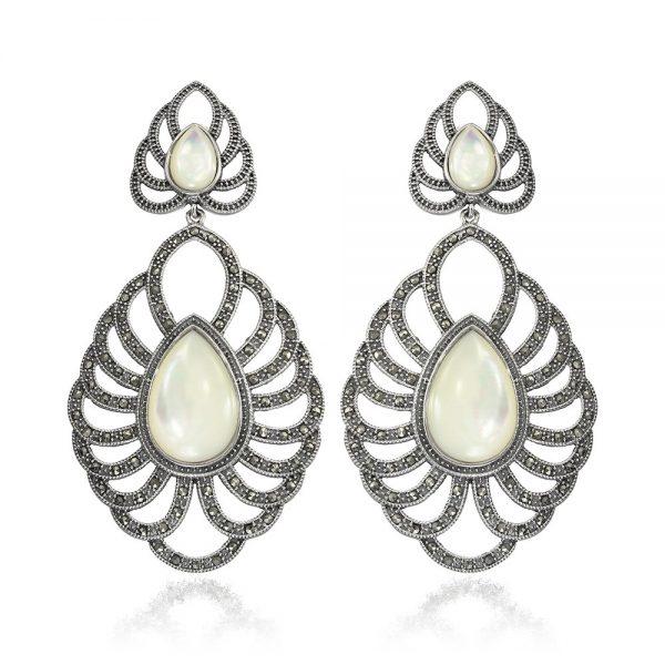Cercei-Paloma-Blanca-din-Argint