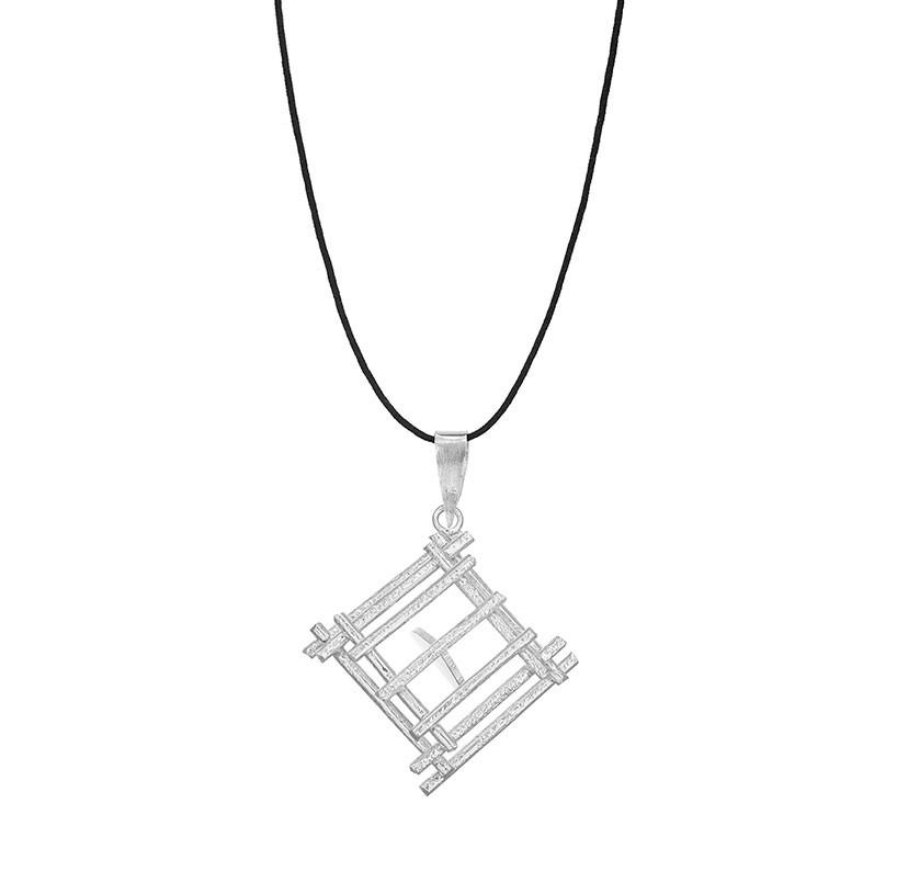 Colier-Love-Locked-Down-din-Argint-1