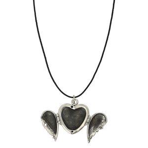 Colier-With-An-Open-Heart-din-Argint-2