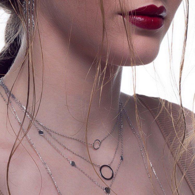 Colier-Ring-Ring-din-Argint-2