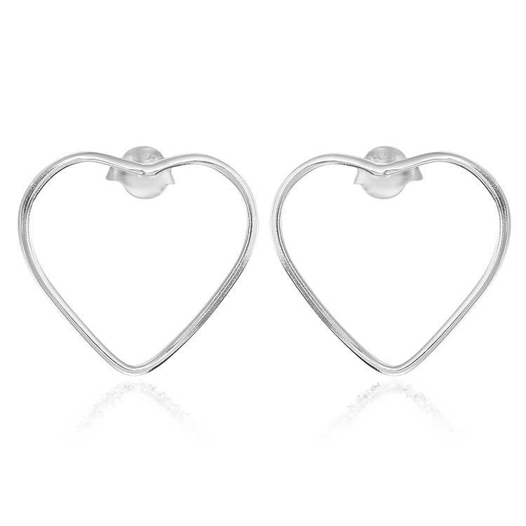 Cercei-Hollow-Hearts-din-Argint-1