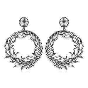 Cercei-Laurent-din-Argint-1