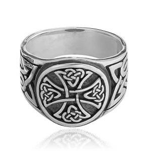 Inel Ragnar ManKind din Argint