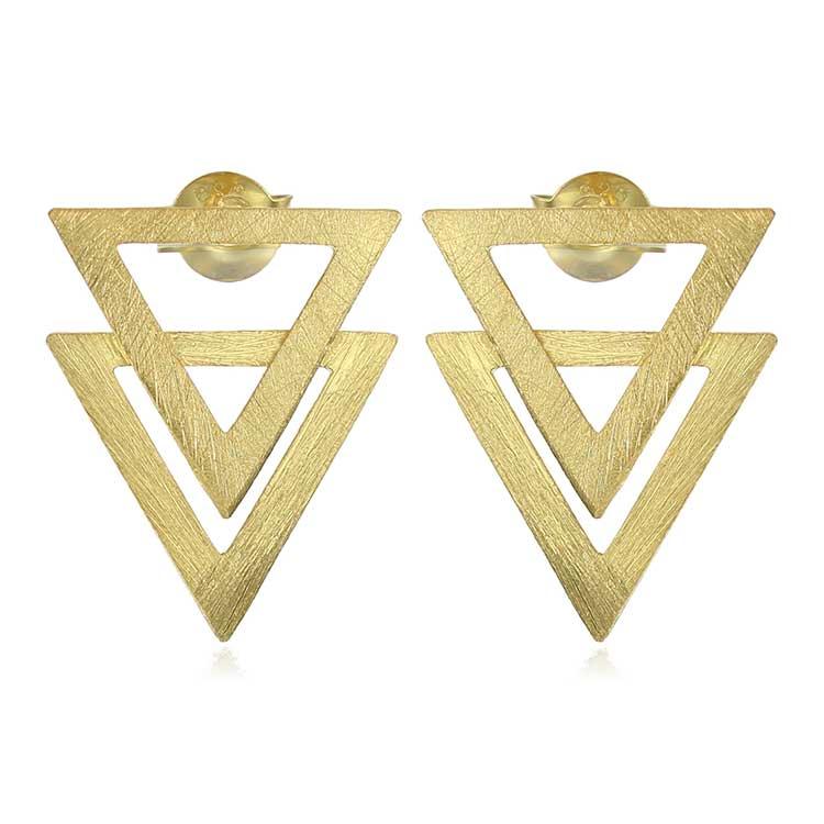 Cercei-Piramid-din-Argint-Aurit-1