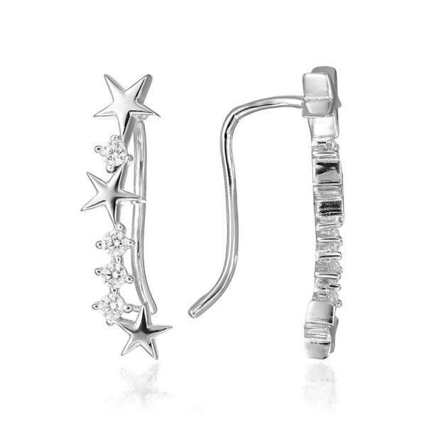 Cercei-Star-Earcuff-din-Argint-2