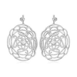 Cercei-White-Rose-din-Argint-1
