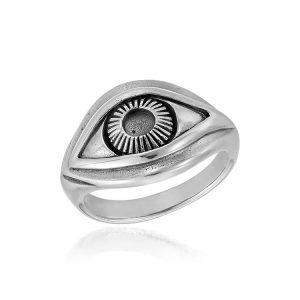 Inel-Mankind-The-Overseer-Argint-1