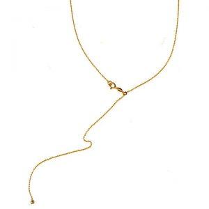 Colier Sliding Chain S din Argint Aurit