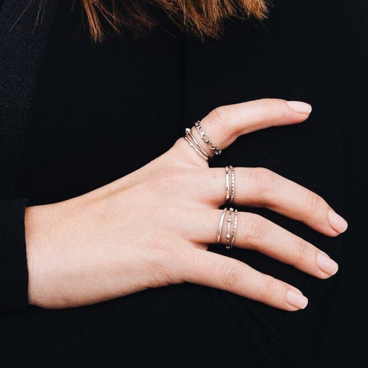 Inel Heart Collector din Argint