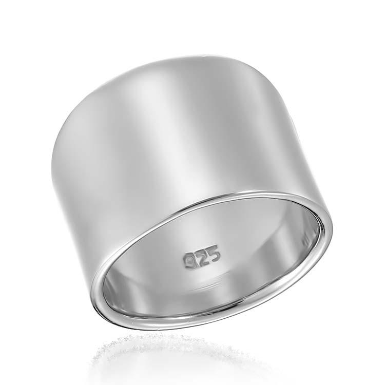 Inel Wide Band din Argint