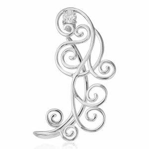 Cercel Jezebel Earcuff din Argint