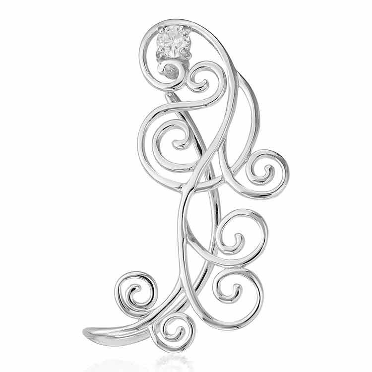 Cercel-Earcuff-Jezebel-din-Argint-1