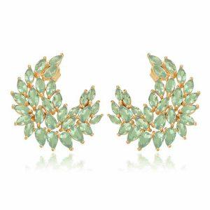Cercei-DeLauretis-Vert-din-Argint-Aurit-Rose-2
