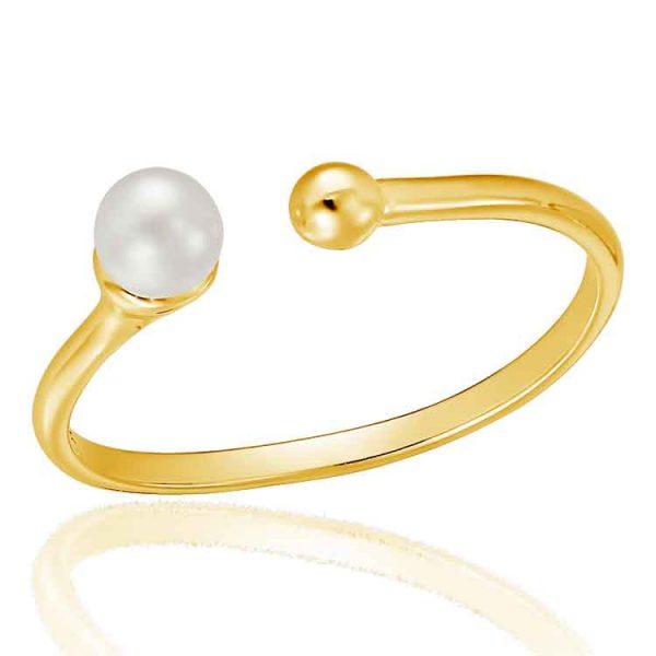 Inel-Pearl-Torque-din-Argint-Aurit-1
