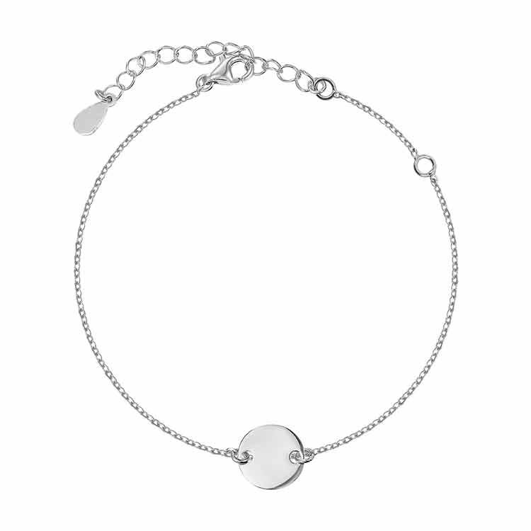 Bratara Coin Chain din Argint