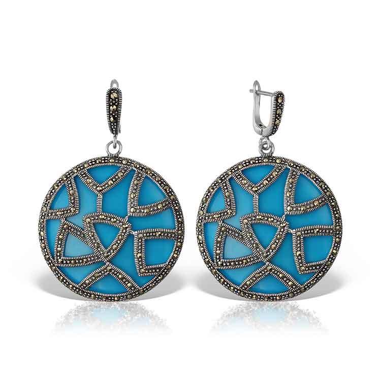 Cercei-Marrakech-din-Argint