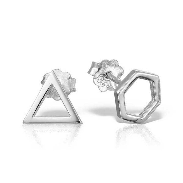 Cercei-Geometry-din-Argint-1