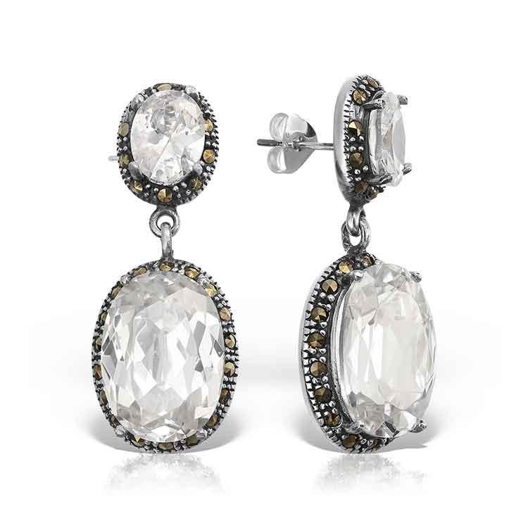 Cercei-Marquise-Clear-din-Argint-1