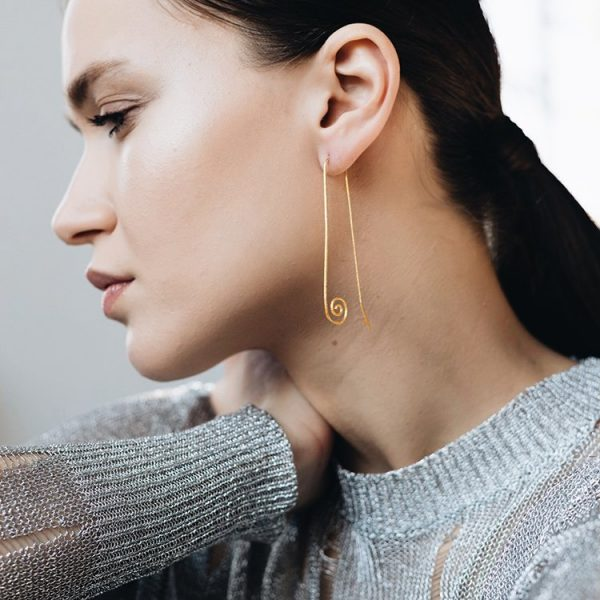 Cercei-Penelope-din-Argint-Aurit