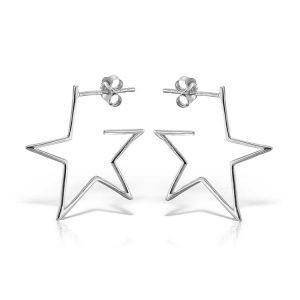 Cercei Star Struck din Argint