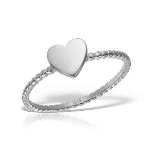 Inel Heart Pinna din Argint