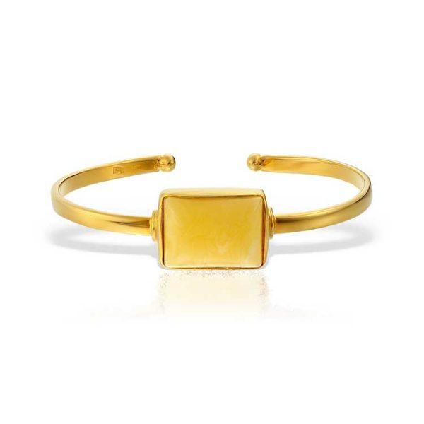 Bratara-Amber-Cara-Mell-din-Argint-Aurit-1