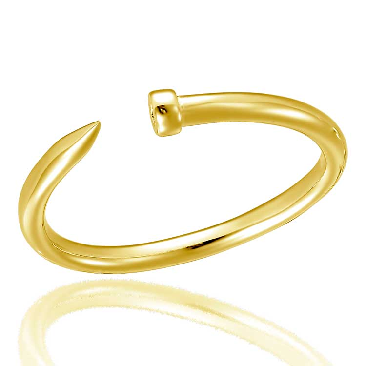 Inel-Slim-Pin-din-Argint-Aurit-1