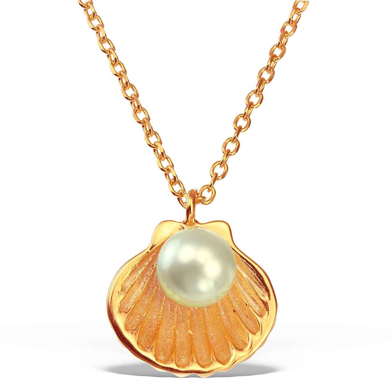 Colier-Birth-of-Venus-din-Argint-Aurit-Rose-1