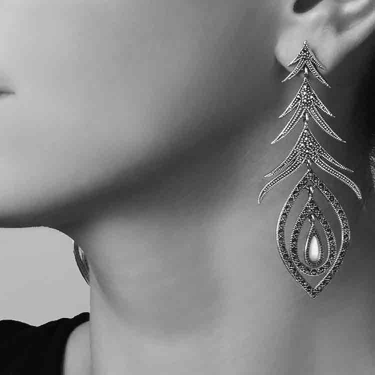 Cercei-Peacock-Perla-din-Argint-2