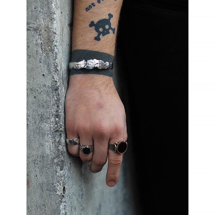 Bratara Introspectum 03, Argint